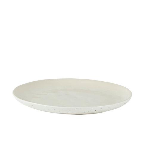 """Teller """"Stoneware Offwhite"""" von Villa Collection"""