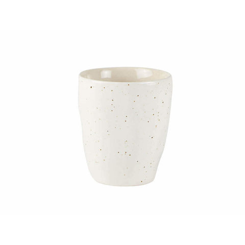 "Becher ""Stoneware Offwhite"" von Villa Collection"