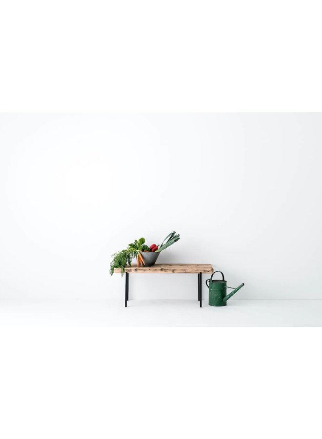 Design-Sitzbank Altholz 01 von weld & co