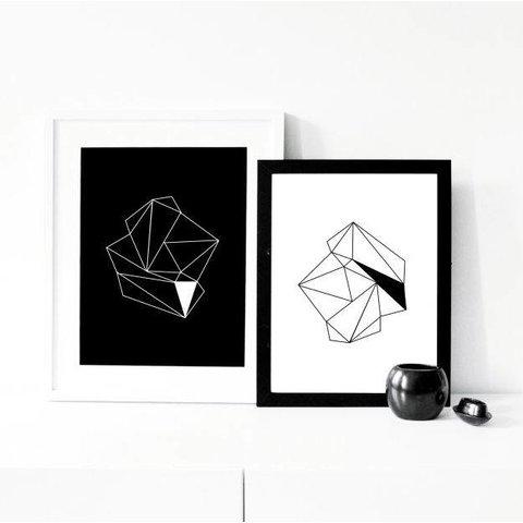 """Poster """"Diamonds"""" von na.hili"""