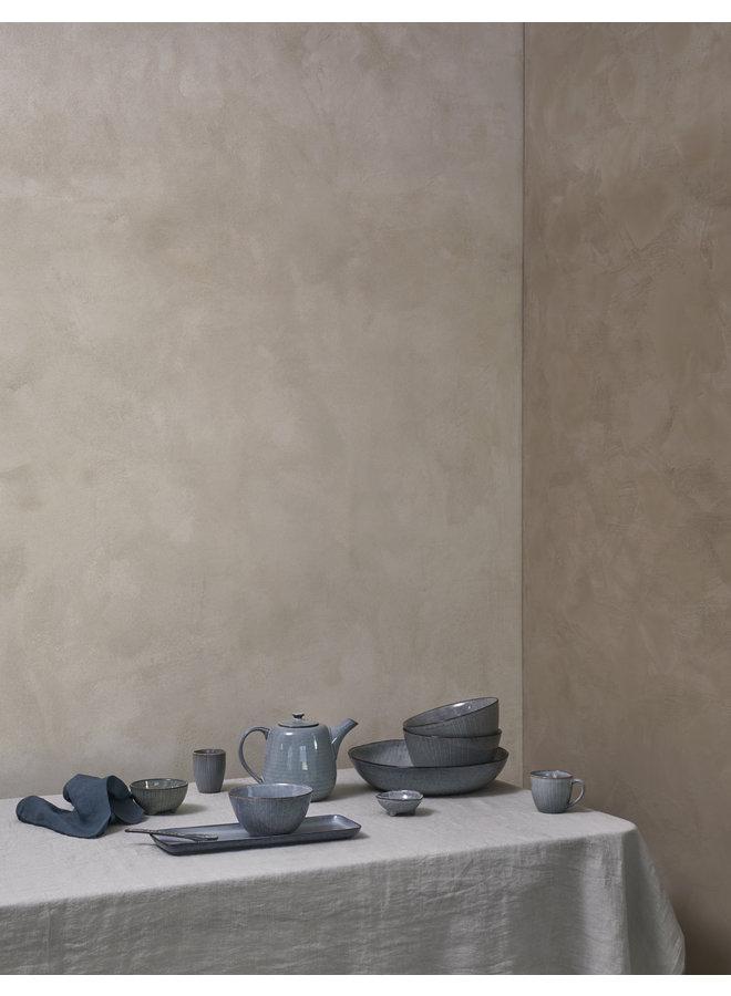 Frühstücksgeschirr-Set Nordic Sea, blau/grau, 12-tlg. von Broste Copenhagen