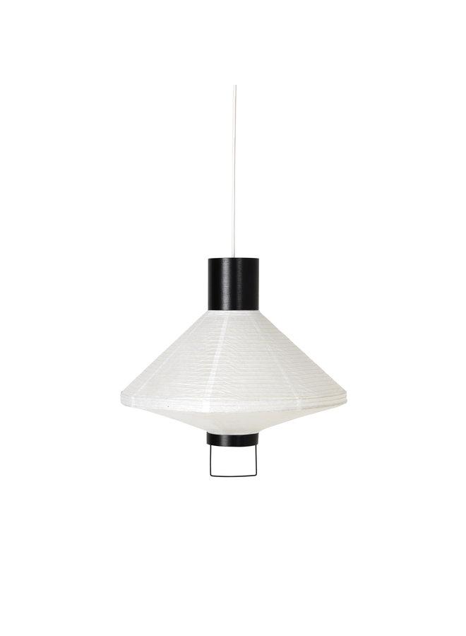 """Lampenschirm """"Ritta"""" schwarz/weiß von Broste Copenhagen"""