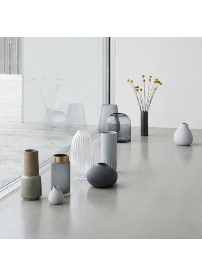 Glasvase, klar von Hübsch Interior