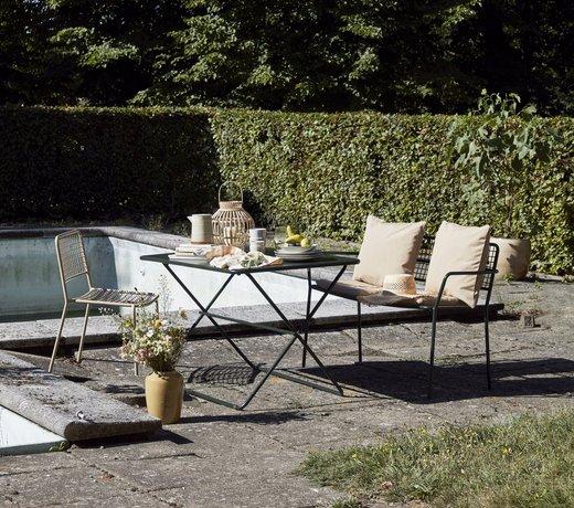Garten- und Balkonmöbel im skandinavischen Design