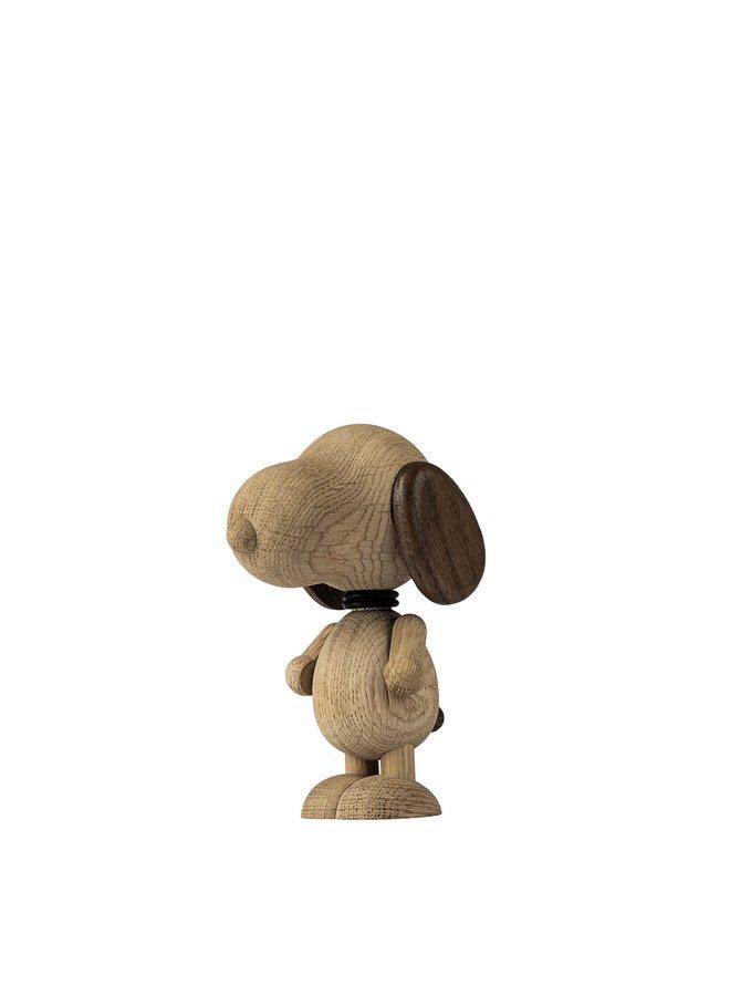 """Tischdeko """"Mr. Beagle"""" aus geräucherter Eiche"""