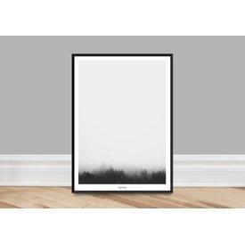 """typealive Poster """"Landscape No. 1"""" von typealive"""