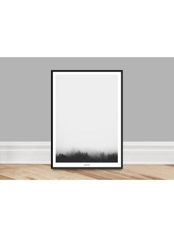 """Poster """"Landscape No. 1"""" von typealive"""