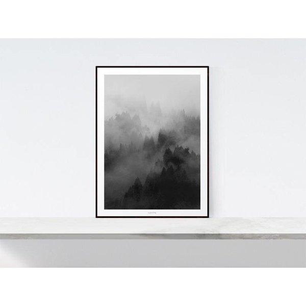 """typealive Poster """"Landscape No. 32"""" von typealive"""