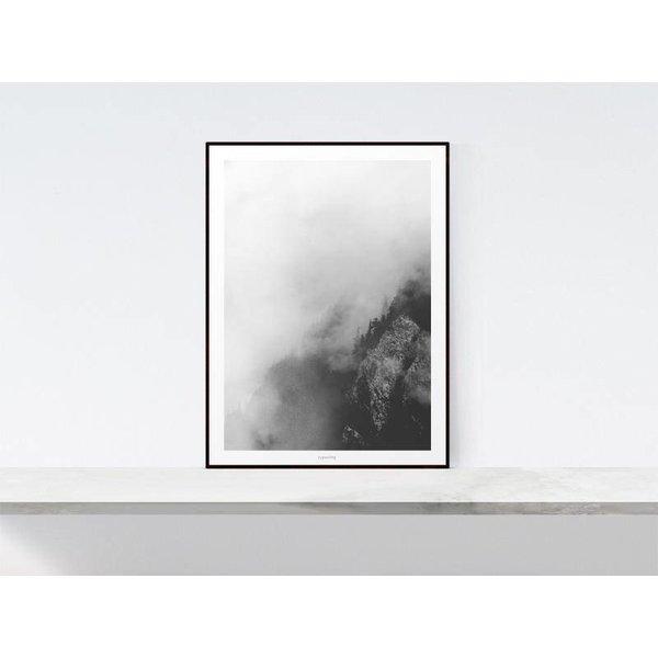 """typealive Poster """"Landscape No. 38"""" von typealive"""