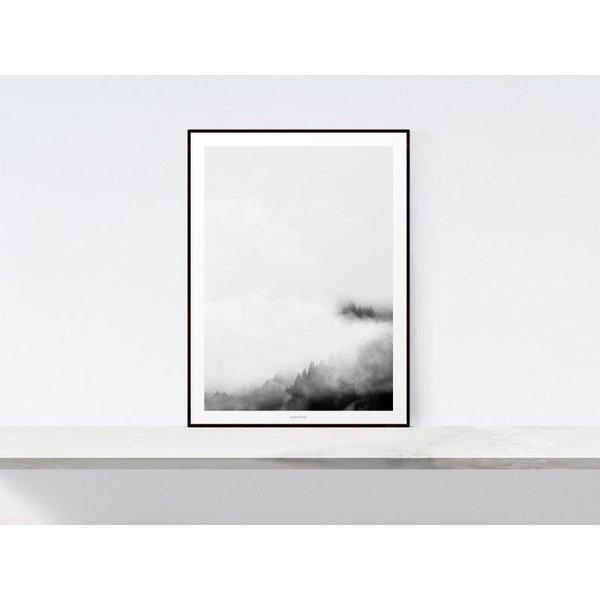 """typealive Poster """"Landscape No. 40"""" von typealive"""