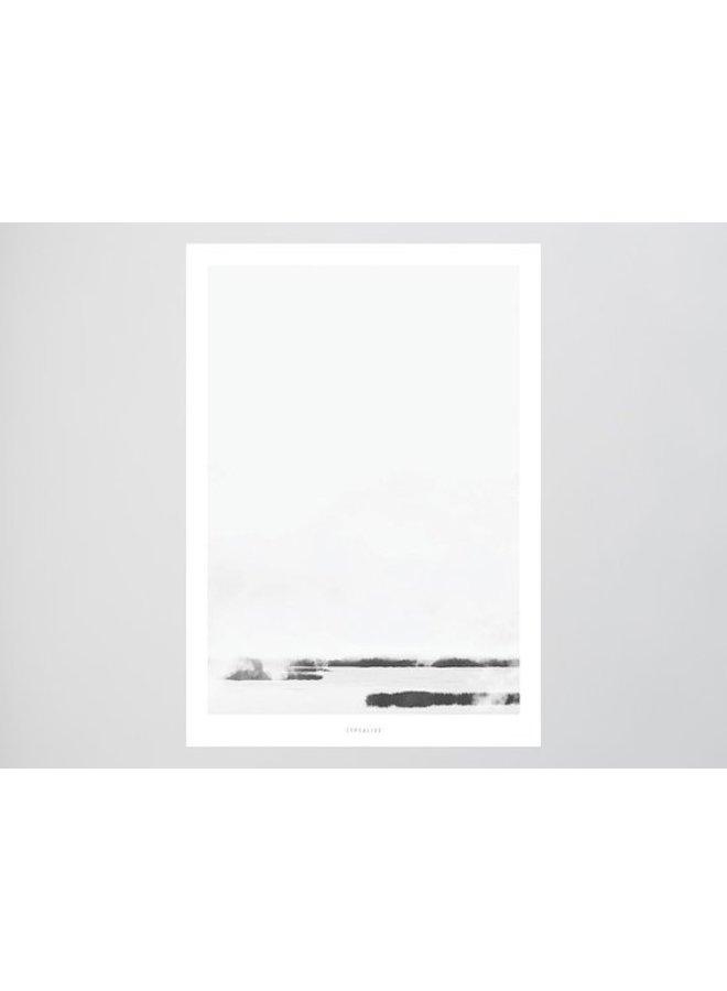 """Poster """"Landscape No. 39"""" von typealive"""