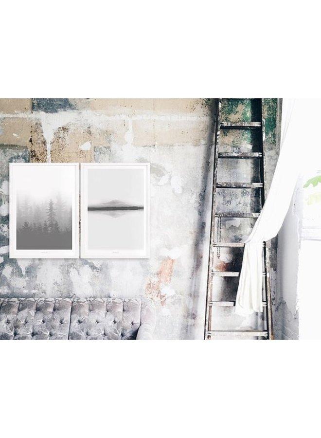 """Poster """"Landscape No. 4"""" von typealive"""