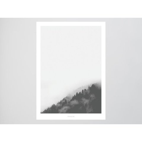 """Poster """"Landscape No. 2"""" von typealive"""