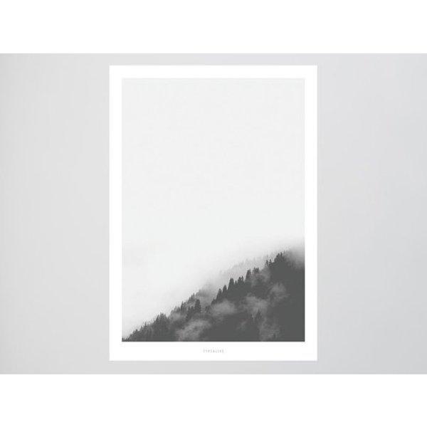 """typealive Poster """"Landscape No. 2"""" von typealive"""