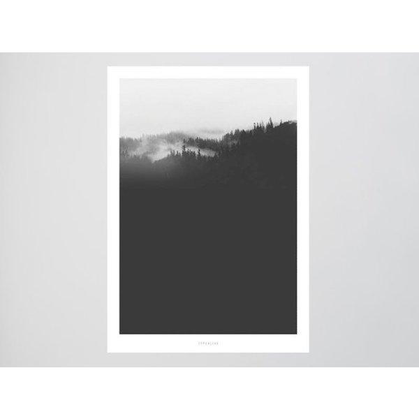 """typealive Poster """"Landscape No. 20"""" von typealive"""