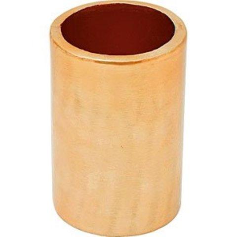 Vase mit Kupferfinish von Liv Interior