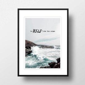 """Amy&Kurt Bild """"Wild like the ocean"""" von Amy & Kurt"""