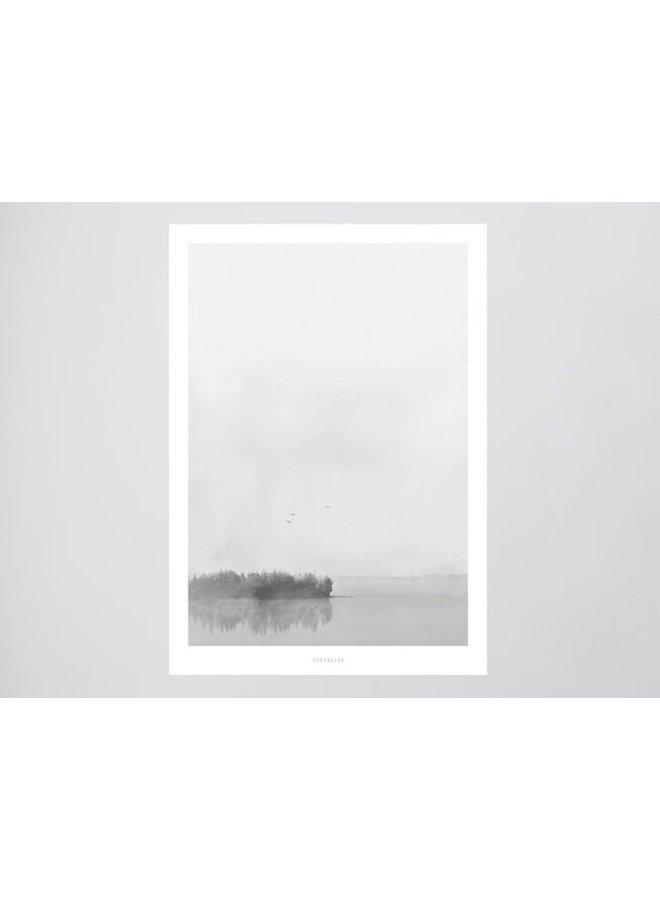 """Poster """"Landscape No. 24"""" von typealive"""