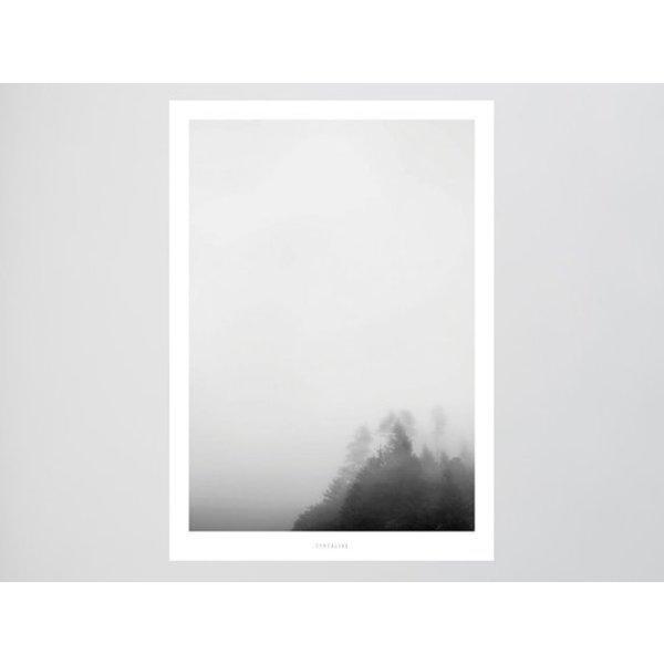 """typealive Poster """"Landscape No. 7"""" von typealive"""