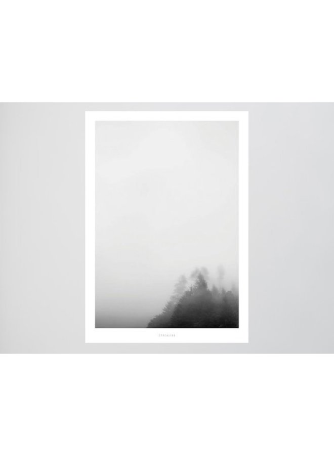 """Poster """"Landscape No. 7"""" von typealive"""