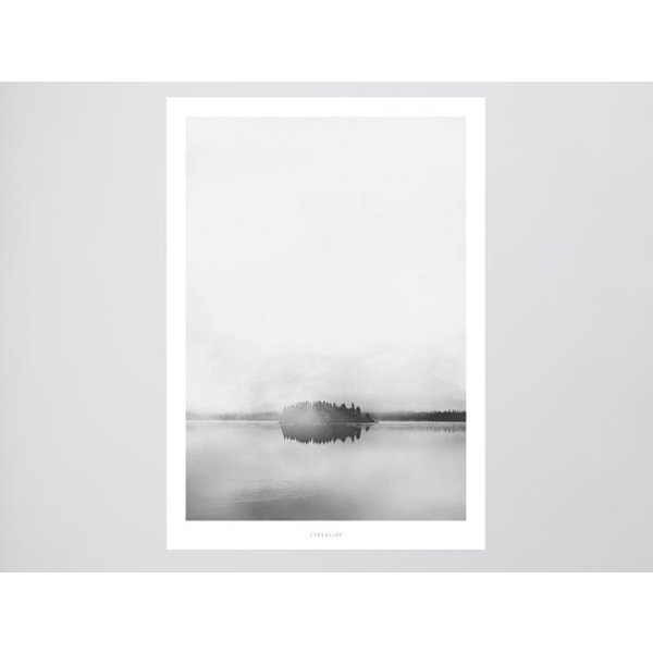 """typealive Poster """"Landscape No. 12"""" von typealive"""