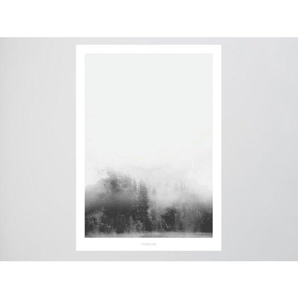 """typealive Poster """"Landscape No. 11"""" von typealive"""