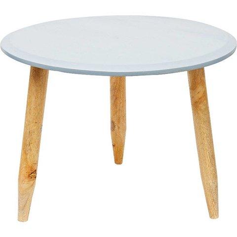 Design-Beistelltisch Mangoholz von Liv Interior