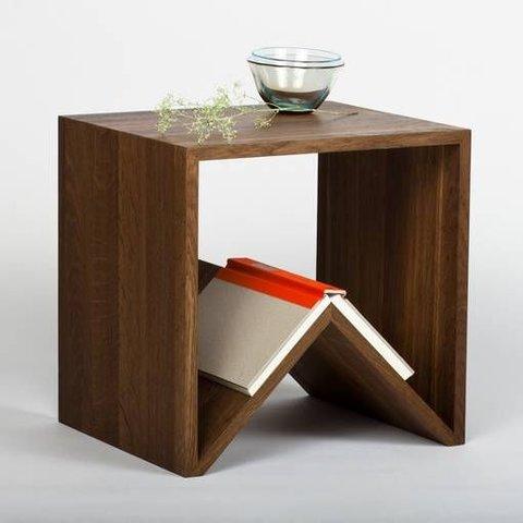 """Design-Beistelltisch """"Carius & Bactus"""" Eiche von MÜLLERNKONTOR"""