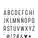 "A little lovely Company Buchstaben-Set ""Basic"" von A little lovely Company"