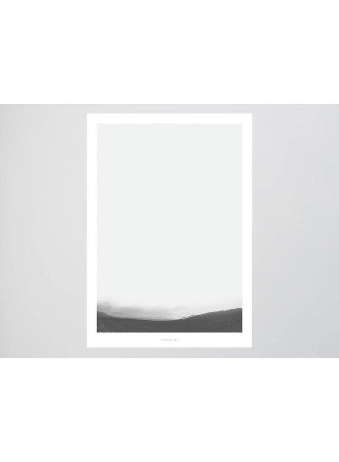 """Poster """"Landscape No. 3"""" von typealive"""