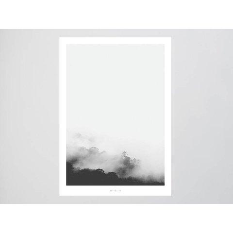 """Poster """"Landscape No. 13"""" von typealive"""