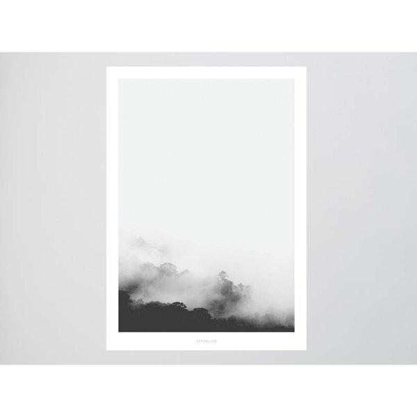"""typealive Poster """"Landscape No. 13"""" von typealive"""