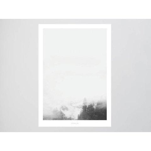"""Poster """"Landscape No. 15"""" von typealive"""