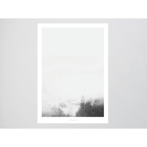 """typealive Poster """"Landscape No. 15"""" von typealive"""
