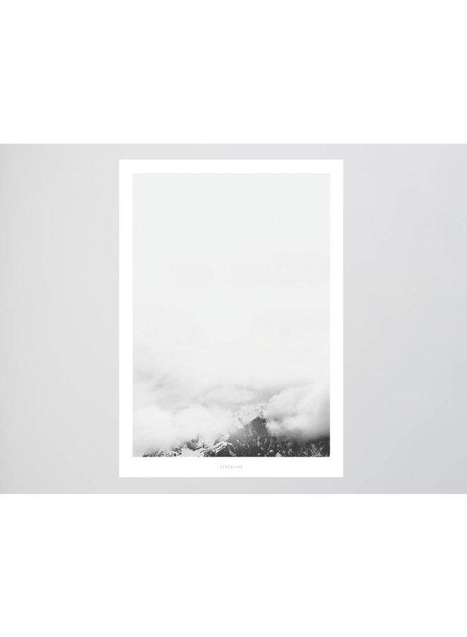 """Poster """"Landscape No. 17"""" von typealive"""