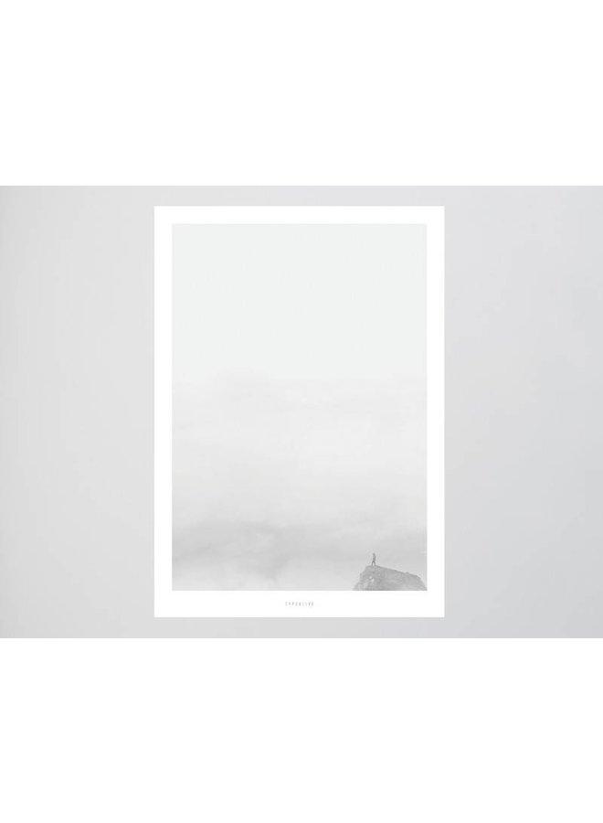 """Poster """"Landscape No. 19"""" von typealive"""