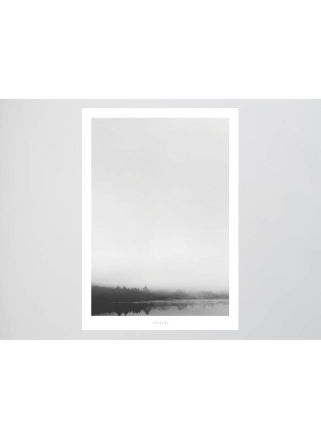 """Poster """"Landscape No. 33"""" von typealive"""
