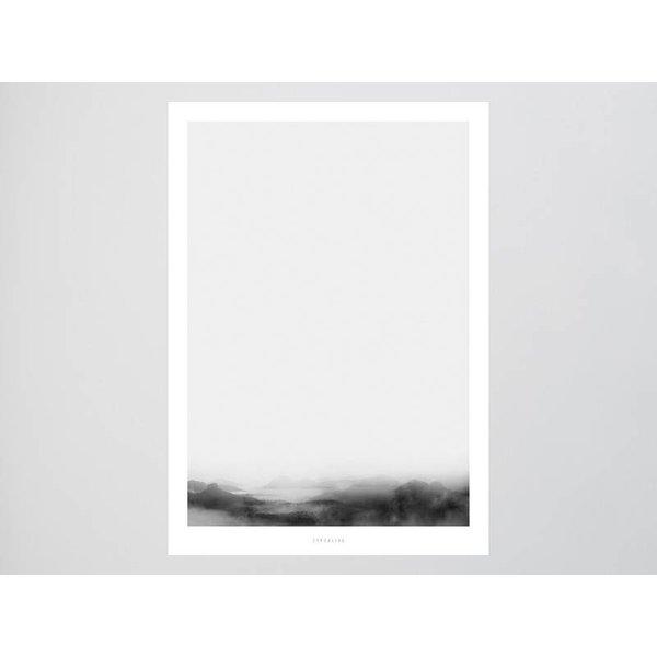 """typealive Poster """"Landscape No. 36"""" von typealive"""