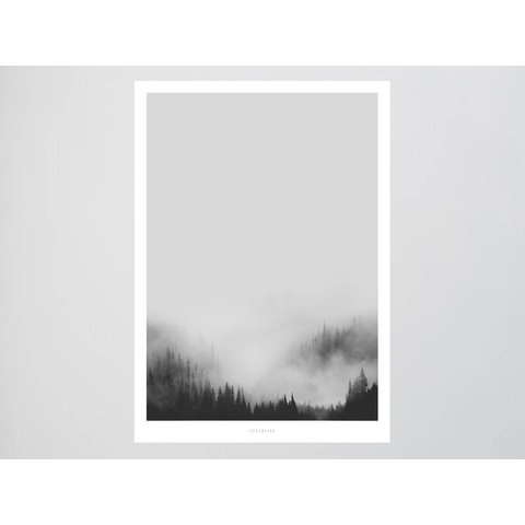 """Poster """"Landscape No. 44"""" von typealive"""