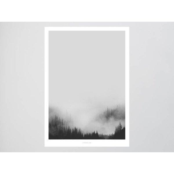 """typealive Poster """"Landscape No. 44"""" von typealive"""
