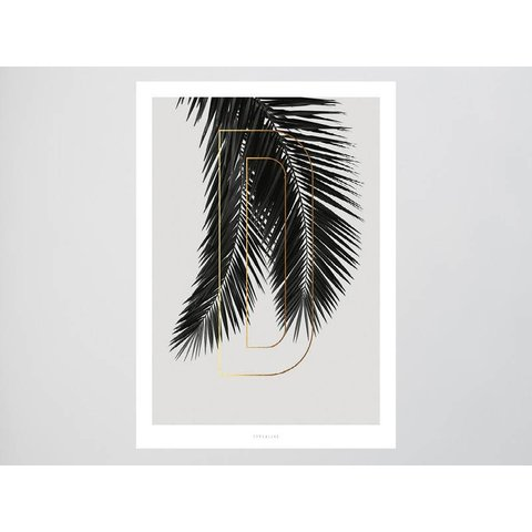"Poster ""ABC Plants - D"" von typealive"