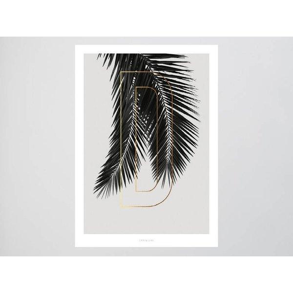 "typealive Poster ""ABC Plants - D"" von typealive"