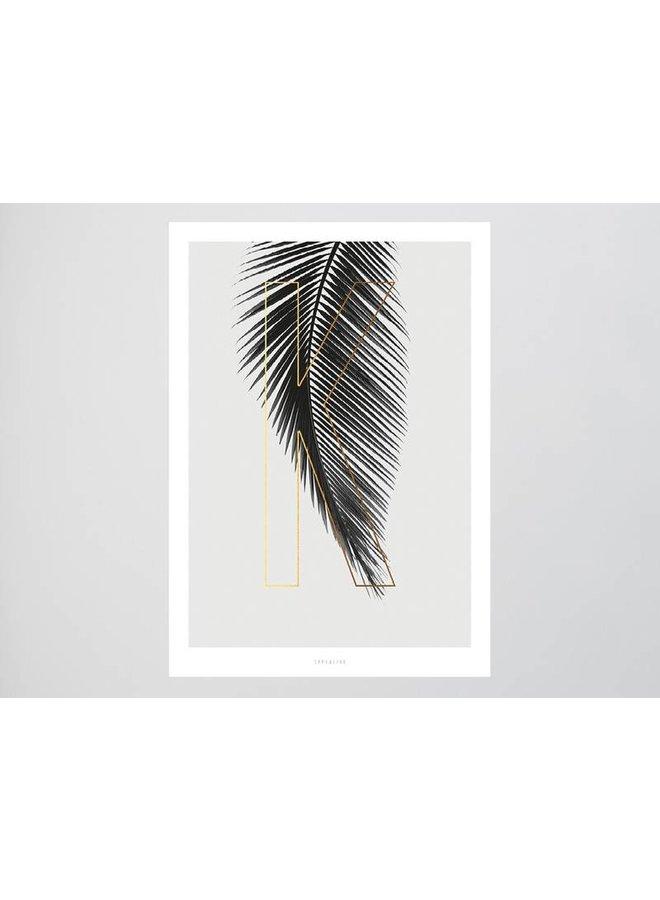 """Poster """"ABC Plants - K"""" von typealive"""