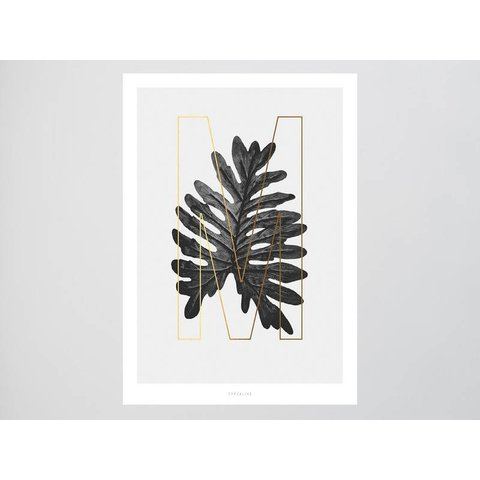 "Poster ""ABC Plants - M"" von typealive"