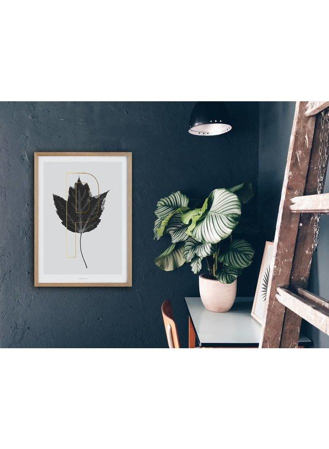 "Poster ""ABC Plants - P"" von typealive"