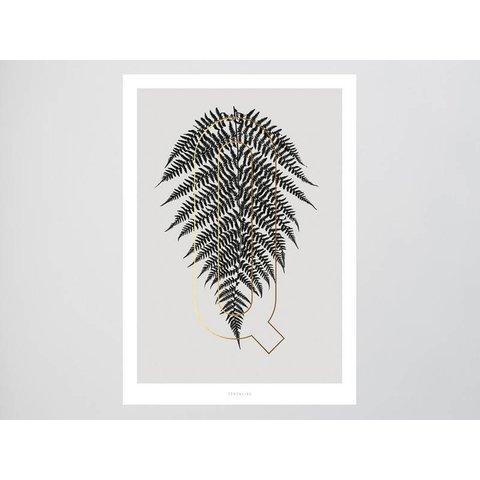 """Poster """"ABC Plants - Q"""" von typealive"""