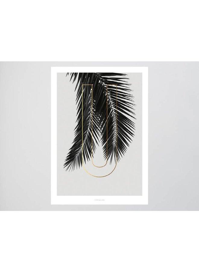 """Poster """"ABC Plants - U"""" von typealive"""