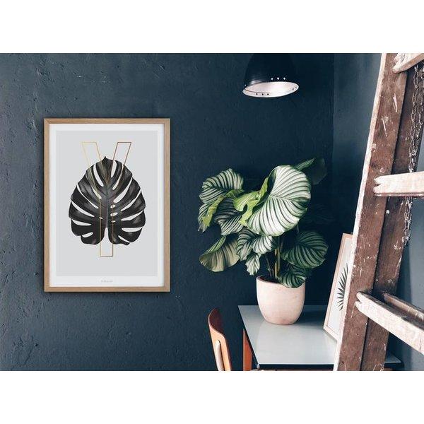 "typealive Poster ""ABC Plants - Y"" von typealive"