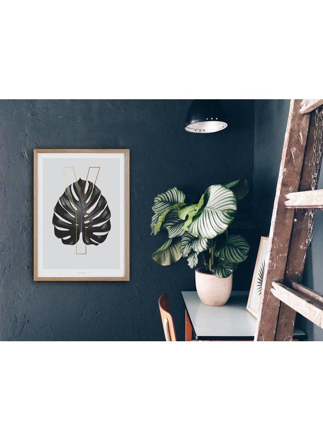 "Poster ""ABC Plants - Y"" von typealive"