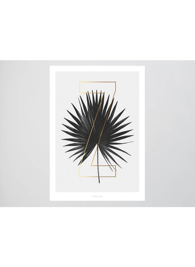 """Poster """"ABC Plants - Z"""" von typealive"""